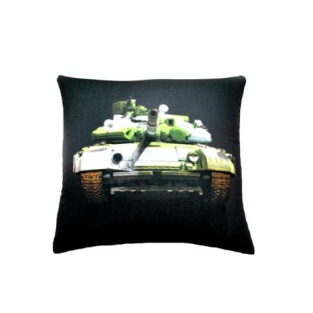 Подушка Игрушка Танк 02 25х25