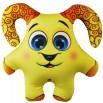 Игрушка Баран желтый