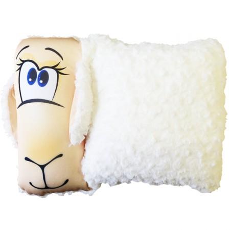 Игрушка Овечка-мех с ушками