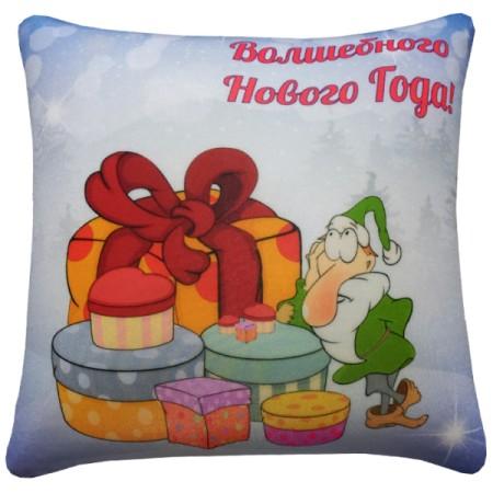 Подушка Игрушка Волшебного Нового Года
