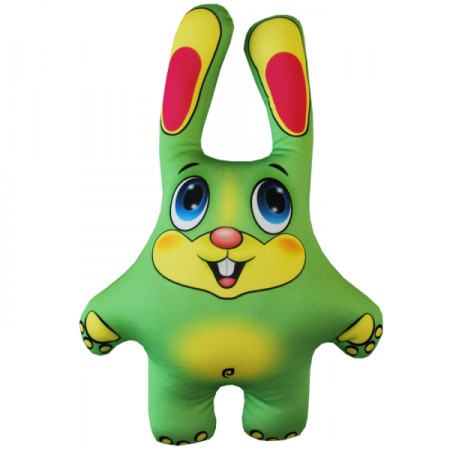 Игрушка Заяц зеленый