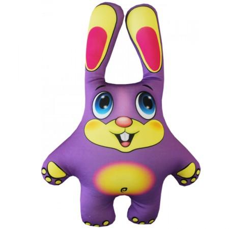 Игрушка Заяц фиолетовый