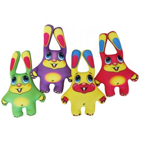 Набор Мини Игрушки Зайцы цветные