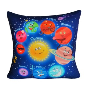 Подушка Игрушка Планеты