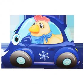 Игрушка Машинка Петушок мини