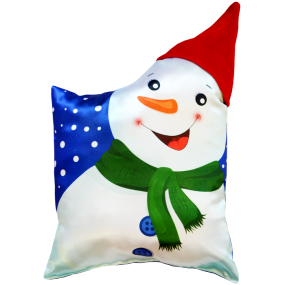 Подушка Игрушка Снеговик 01