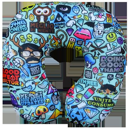 Подушка под шею Игрушка Микс 01