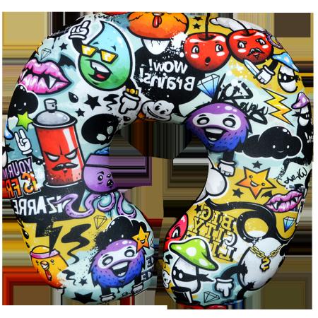 Подушка под шею Игрушка Микс 03
