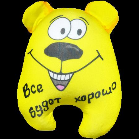 Игрушка Медведь Чапа желтый 08