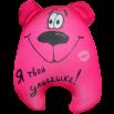 Игрушка Медведь Чапа розовый 01