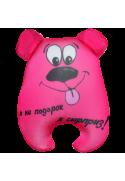 Игрушка Медведь Чапа розовый 04