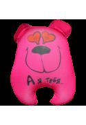 Игрушка Медведь Чапа розовый 09