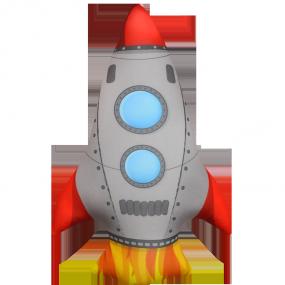 Игрушка Ракета 01
