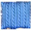 Подушка Игрушка Вязанка голубая