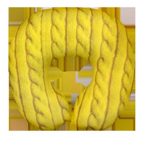 Подушка под шею Игрушка Вязанка 03