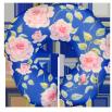 Подушка под шею Игрушка Цветочек 02