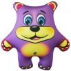 Игрушка Медведь фиолетовый
