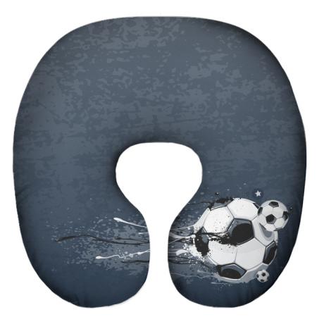 Подушка под шею Игрушка Футбол 05