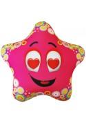 Игрушка Звезда розовая