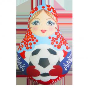 Игрушка Матрешка Футбольная 01 мини