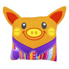 Подушка Игрушка Свинка с ушками 02