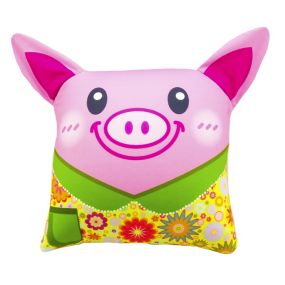 Подушка Игрушка Свинка с ушками 03