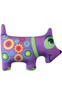Игрушка Собака фиолетовая