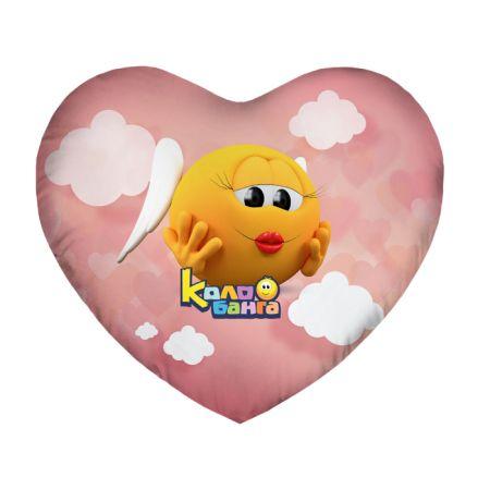 Подушка Игрушка Колобанга Сердце 08
