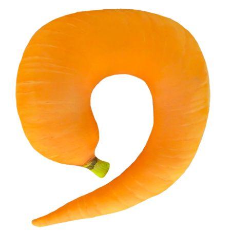 Подушка под шею Игрушка Морковка