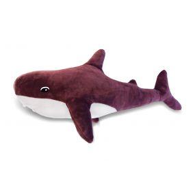 Подушка Пушистик Акула бордовая