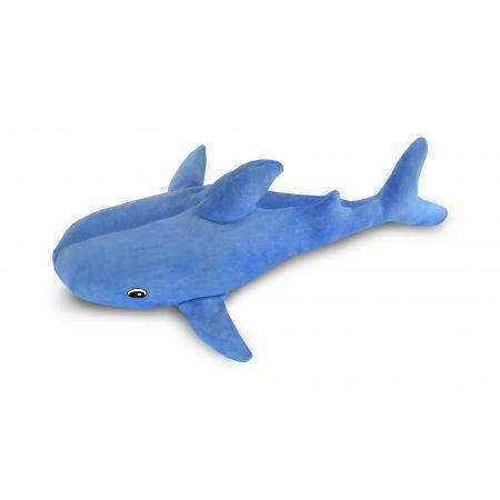 Подушка Пушистик Акула голубая