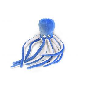 Подушка Пушистик Осьминог голубой