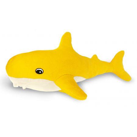 Подушка Пушистик Акула желтая