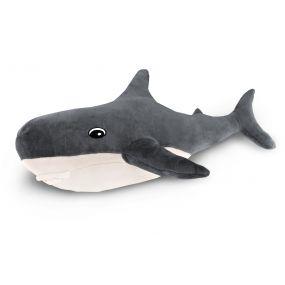 Подушка Пушистик Акула серая