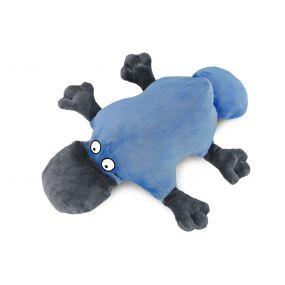 Подушка Пушистик утконос голубой