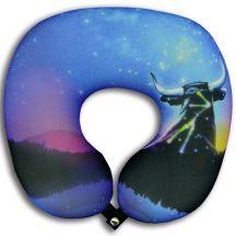 Подушка под шею Игрушка Звездный бык 05