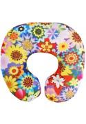 Подушка под шею Игрушка Цветочная