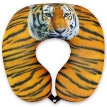 Подушка под шею Игрушка Тигровый 01