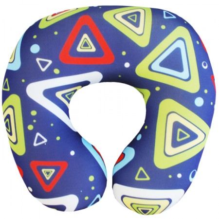 Подушка под шею Игрушка Синяя