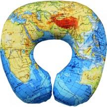 Подушка под шею Игрушка Карта мира