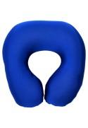 Подушка под шею Игрушка Релакс синяя